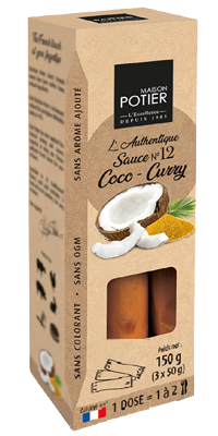 12 etuis coco curry